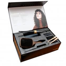 Riboto leidimo plaukų garbanojimo rinkinys HH Simonsen ROD VS1 Gold Limited Edition