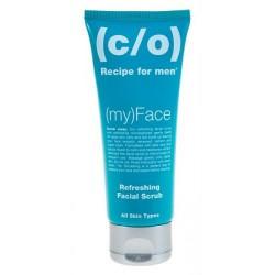Veido šveitiklis C/O Recipe For Men Refreshing Facial Scrub 100ml