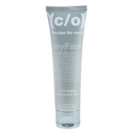 Prieš senėjimo požymius kovojantis veido kremas +35 C/O Recipe For Men Anti-aging hydrating Gel  60ml