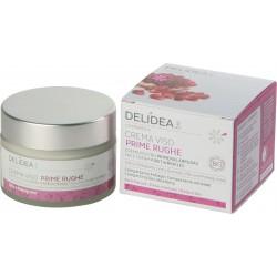 Ekologiškas kremas prieš pirmąsias mimikos raukšles su granatais Delidea BIO Face Cream First Wrinkles 50ml