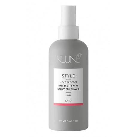 Purškiklis apsaugantis plaukus nuo karštų įrankių KEUNE STYLE Hot Iron Spray 200ml