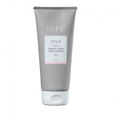 Plaukų tiesinimo kremas KEUNE STYLE Straight Cream 200ml
