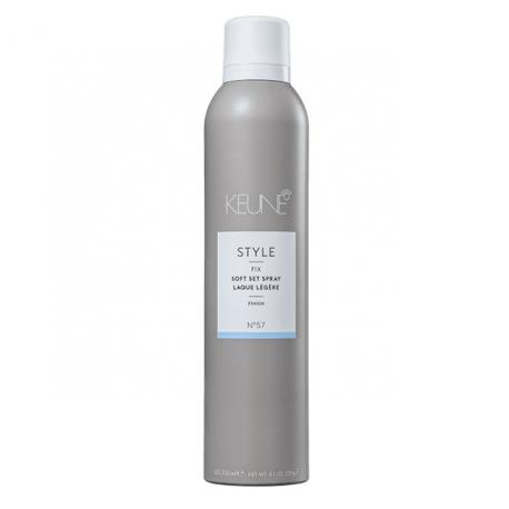Lengvos fiksacijos plaukų lakas KEUNE STYLE Soft Set Spray 300ml