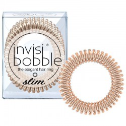 Gumytės plaukams Invisibobble Slim Bronze Me Pretty 3 vnt.