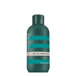 Šampūnas, šalinantis nepageidaujamą rausvą plaukų atspalvį ELGON COLORCARE Anti-Red Shampoo pH 6 300 ml