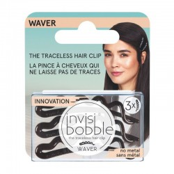 Segtukai plaukams Invisibobble Waver Crystal Clear 3vnt.