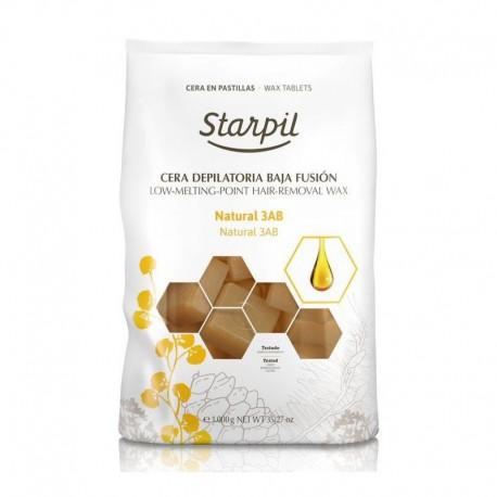 Žemoje temperatūroje besilydantis vaškas depiliacijai Starpil, natūralus 1 kg