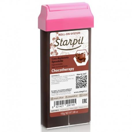 Vaškas kasetėje Starpil Roll-On Chocolatherapy, šokoladinis 110g