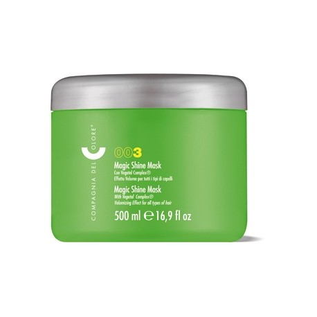 Šilkinio blizgesio plaukų kremas Compagnia del Colore Magic shine Mask 500ml