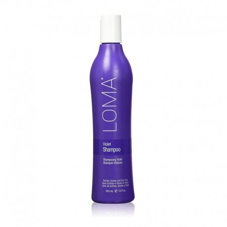 Šampūnas šviesintiems ir žiliems plaukams Loma Violet Shampoo 355ml