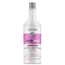 Garbanotų plaukų šampūnas INOAR CicatriOndas Shampoo 1000ml