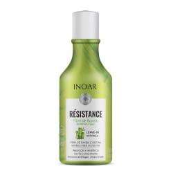 Nenuplaunamas kondicionierius pažeistiems plaukams INOAR Resistance Fibra de Bambu Leave-in Antifriz 250ml