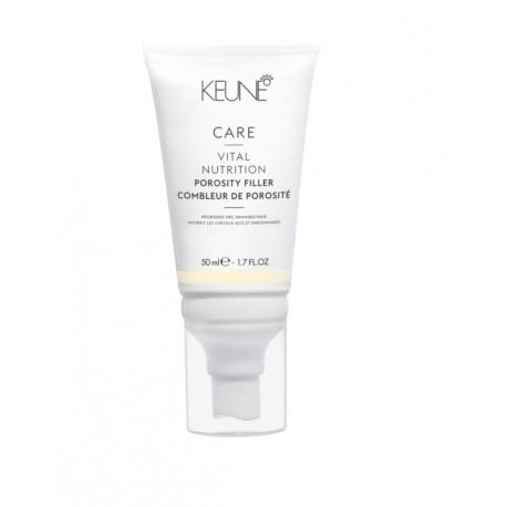 Užpildas mažinantis plaukų porėtumą KEUNE Care Line Vital Nutrition Porosity Filler 50ml