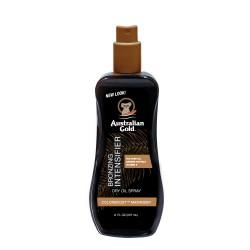 Įdegį skatinantis purškiamasis aliejus su natūraliais bronzantais Australian Gold Intensifier Dry oil spray 237ml