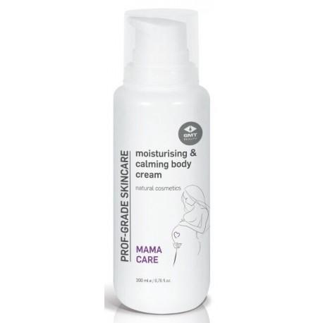 Drėkinantis ir raminantis kūno kremas GMT BEAUTY EXPECTING Moisturizing & Calming Body Cream 200ml