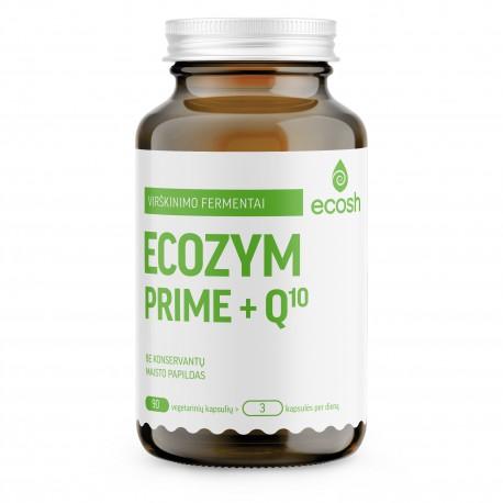 Maisto papildas Ecozym Prime + kofermentas Q10 ECOSH 90kaps.