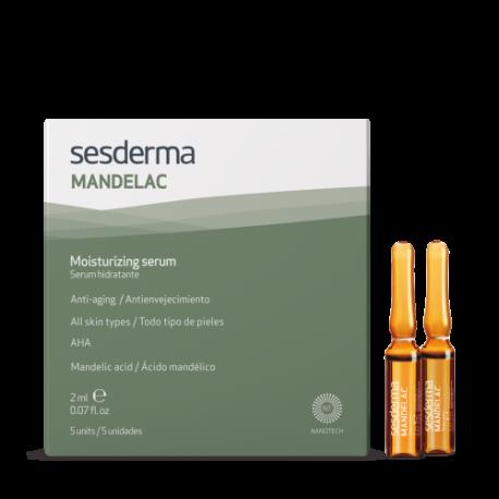 SESDERMA MANDELAC intensyvaus serumo ampulės 5x2ml