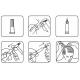 Plaukų augimą skatinančios ampulės Crescina Re-Growth HFSC 500 100% 10vnt