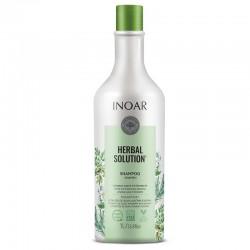Šampūnas su alyvuogių, rozmarinų ir jazminų ekstraktu INOAR Herbal Solution Shampoo 1000ml