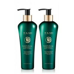 Plaukus pakeliantis ir apimtį didinantis dovanų rinkinys  T-LAB Professional Natural Lifting Ritual