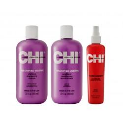 Apimties suteikiantis rinkinys ploniems plaukams CHI Magnified Volume