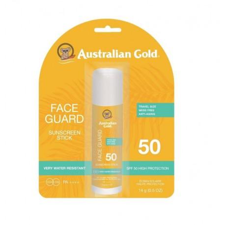 Apsaugos nuo saulės veido pieštukas AUSTRALIAN GOLD SPF50
