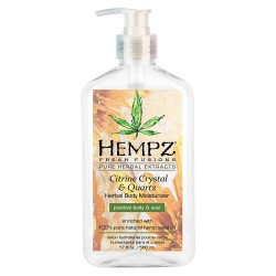 Drėkinantis kūno kremas Hempz Citrine Crystal & Quartz Herbal Body Moisturizer 500ml