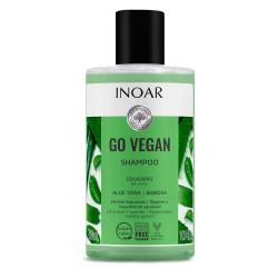 Balansuojantis plaukų šampūnas su alaviju INOAR Go Vegan Balance Shampoo 300ml
