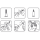 Ampulių kompleksas moterų plaukų slinkimui ir atauginimui CRESCINA TRANSDERMIC 100% 500 20vnt