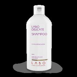 Šampūnas jautriai galvos odai su 3 hialurono rūgštimis LABO Delicate Shampoo 200 ml