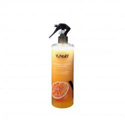Apelsinų ir ciberžolės aromato dvifazis plaukų purškiklis YUNSEY Spray