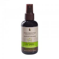 Maitinamasis, drėkinamasis purškiamas aliejus sausiems plaukams, Macadamia Nourishing Repair Oil Spray 125ml