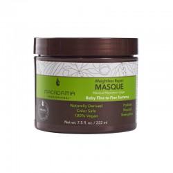 Neapsunkinanti plaukų drėkinamoji kaukė Macadamia Weightless Repair Masque 222ml