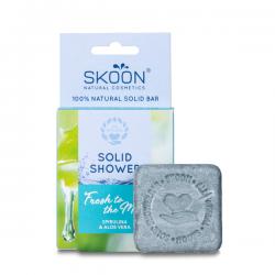 Kietasis kūno prausiklis SKOON Solid Shower Fresh To The Max 90g