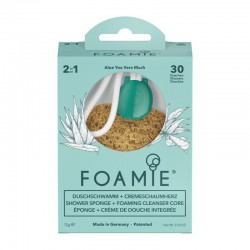 Kempinė su putojančiu prausikliu Foamie Sponge + Shower Care Inside Shake Your Coconuts 1vnt
