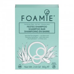 Kietasis šampūnas plaukams Foamie Shampoo Bar Aloe You Vera Much 80g