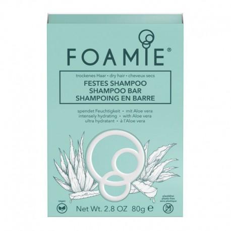 Drėkinantis šampūnas su maišiuku sausiems plaukams FOAMIE moisturizing moisturizing shampoo bar for dry hair 83