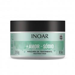 Plaukų kaukė visiems plaukų tipams INOAR More Love Less Salt Mask 250ml