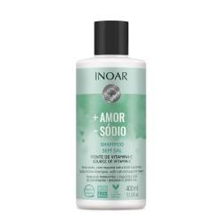 Šampūnas be druskų INOAR More Love Less Salt Shampoo 400ml