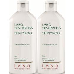 Šampūnas nuo seborėjos su 3 hialurono rūgštimis LABO Seborrhea Shampoo 200 ml