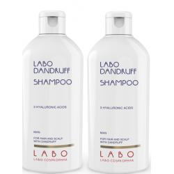 Šampūnas nuo pleiskanų su 3 hialurono rūgštimis LABO Dandruff Shampoo 200ml