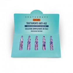 Intensyvi stabdanti senėjimą priemonė veidui ampulėse GUAM Anti-Age Serum 5х2ml