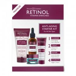 Veido priežiūros priemonių rinkinys Retinol Anti-Aging Starter Kit