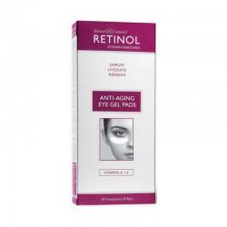 Paakių odos padeliai Retinol Anti-Aging Eye Gel Pads 10vnt