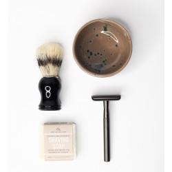 Skutimosi rinkinys vyrams Slowli Ethical Black Shaving Set