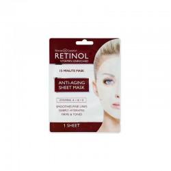 Vienkartinė veido kaukė Retinol Anti-Aging Sheet Mask 1vnt