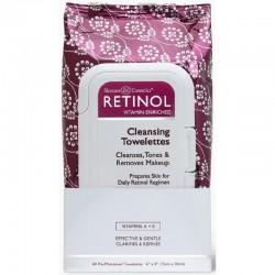 Servetėlės makiažui valyti Retinol Cleansing Towelettes 60vnt
