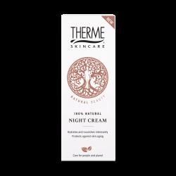 Natūralus naktinis veido kremas su hialurono rūgštimi THERME Night Cream 50ml