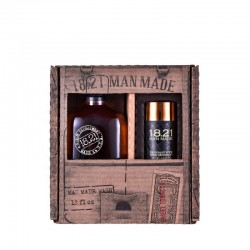 Plaukų ir kūno priežiūros priemonių rinkinys vyrams 18.21 Man Made Duo Gift Box Sweet Tabacco
