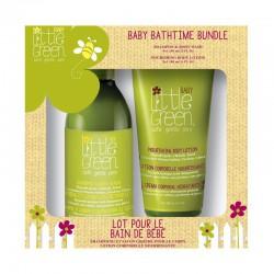 Plaukų ir kūno priežiūros priemonių rinkinys Little Green Baby Bathtime Bundle